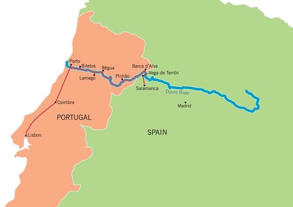 #55 - Douro Map
